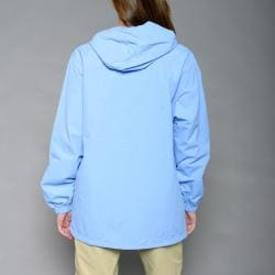 Bimini Bay Women's 'Santa Fe' Light Blue Rain Jacket - Free ...