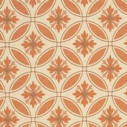 Safavieh Cream/ Terracotta Indoor Outdoor Rug (8' x 11'2) - Thumbnail 2