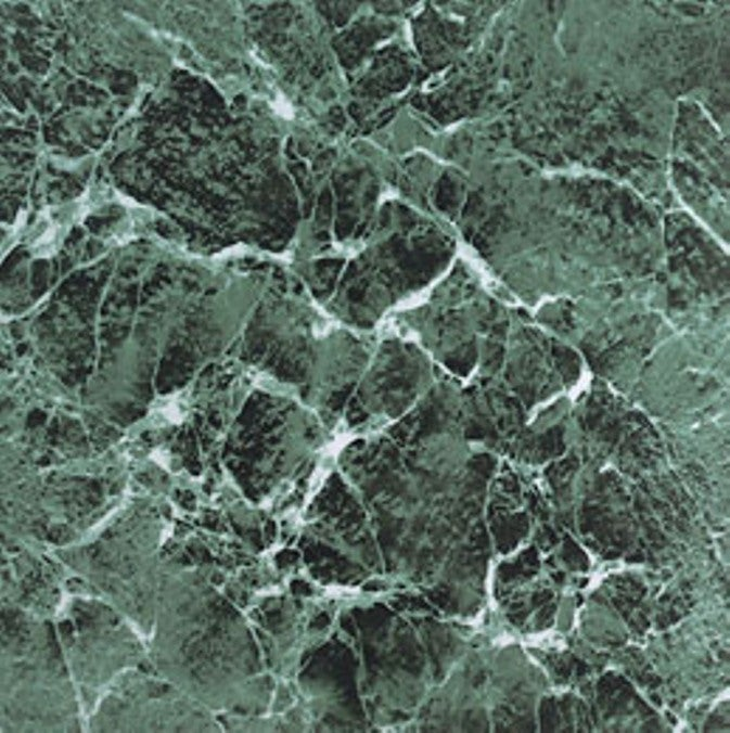 Self-Adhesive Green Marble Vinyl Floor Tiles (12 x 12) 60 Square Feet