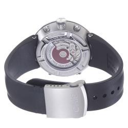 Oris Men's 'TT1' Grey Dial Black Rubber Strap Automatic Watch - Thumbnail 1
