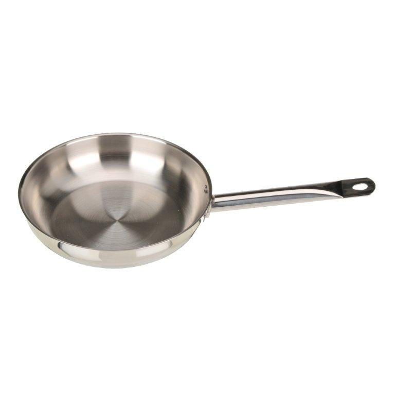 Art & Cuisine Professionnelle 9.4-inch Stainless Steel Frypan