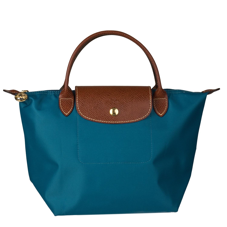 longchamp aqua blue 39 mini le pilage 39 tote handbag free shipping today 14077768. Black Bedroom Furniture Sets. Home Design Ideas
