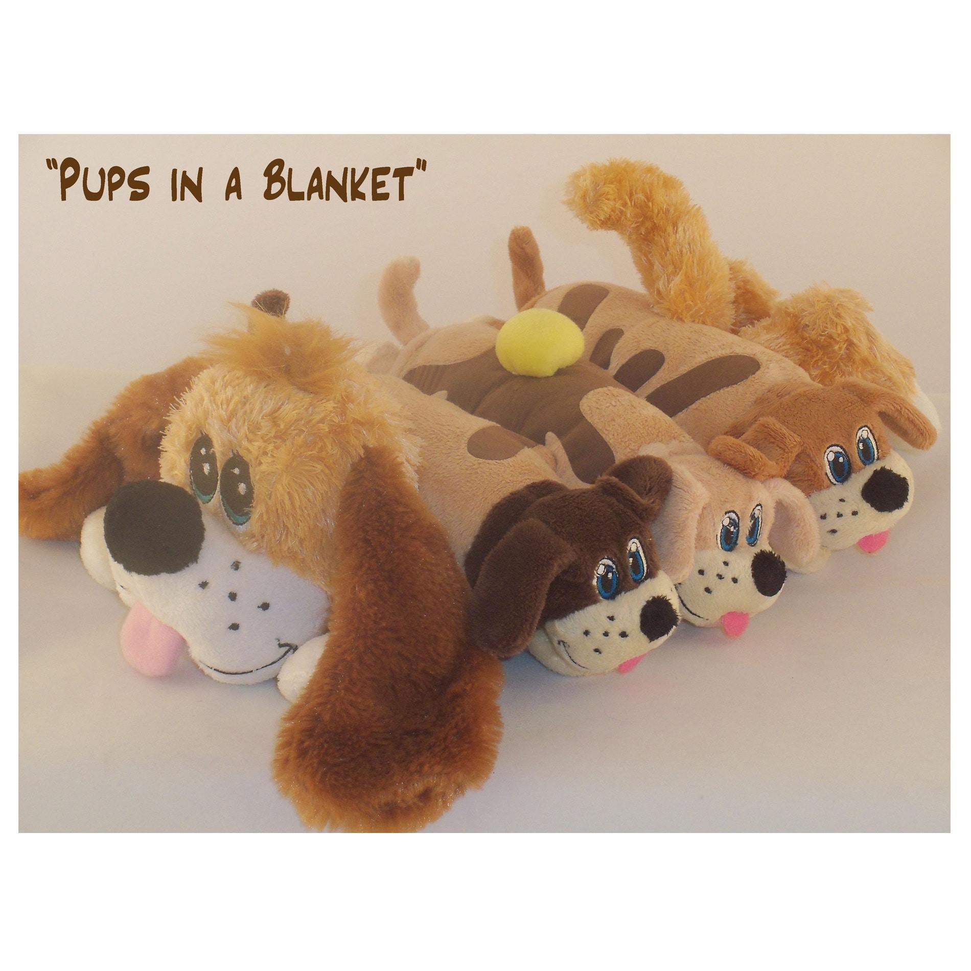 Pancake Puppy 'Pups in a Blanket' Stuffed Animal
