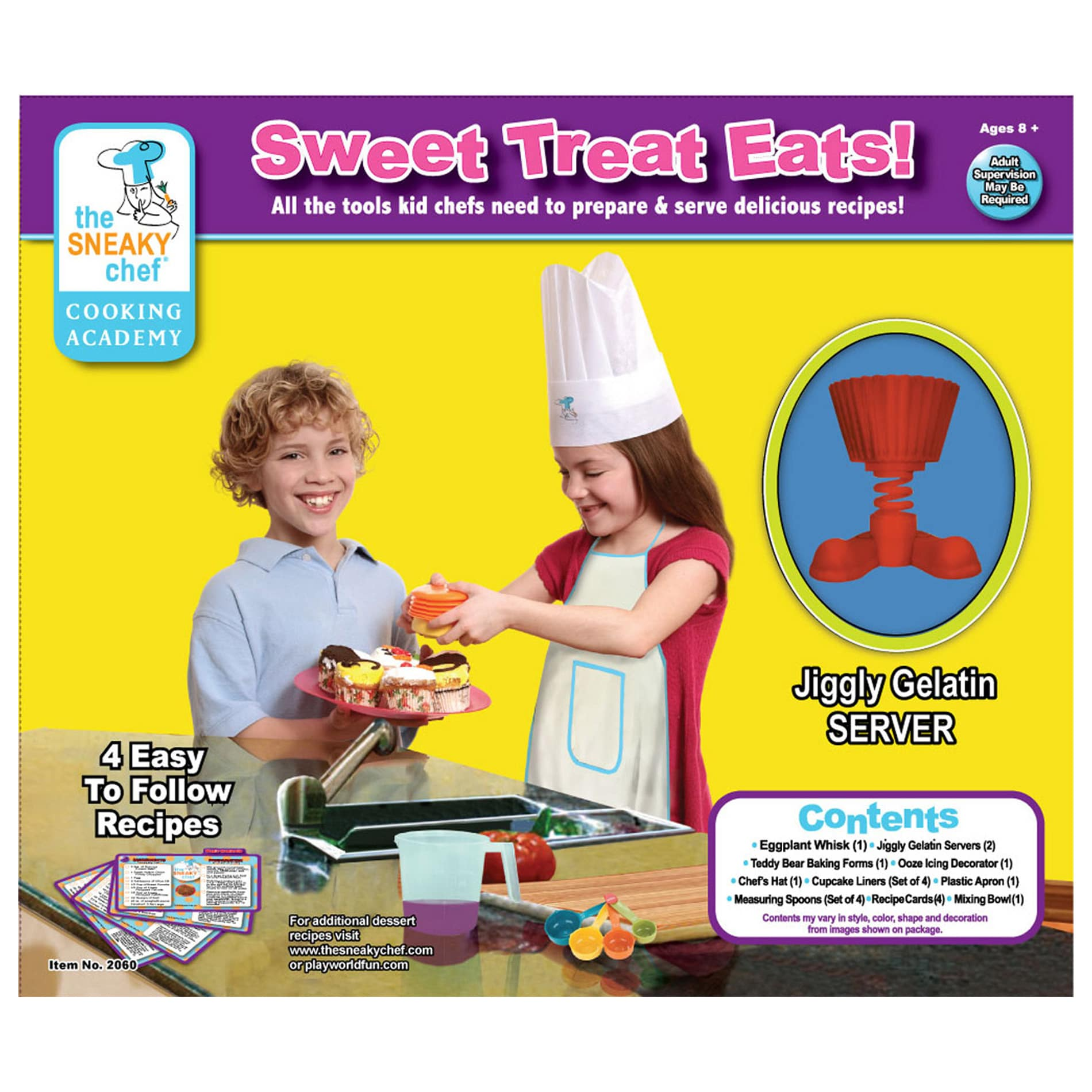 Sweet Treat Eats 20-piece Chef Set