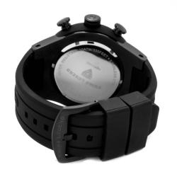 Swiss Legend Men's 'Neptune' Black Dial Black Rubber Chronograph Watch - Thumbnail 1