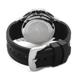 Swiss Legend Men's 'Evolution' Black Silicone Chronograph Watch - Thumbnail 1
