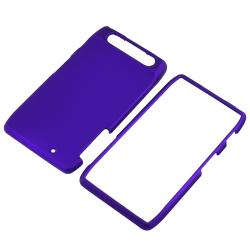 Blue Snap-on Rubber Coated Case for Motorola Droid RAZR XT910/ XT912 - Thumbnail 2