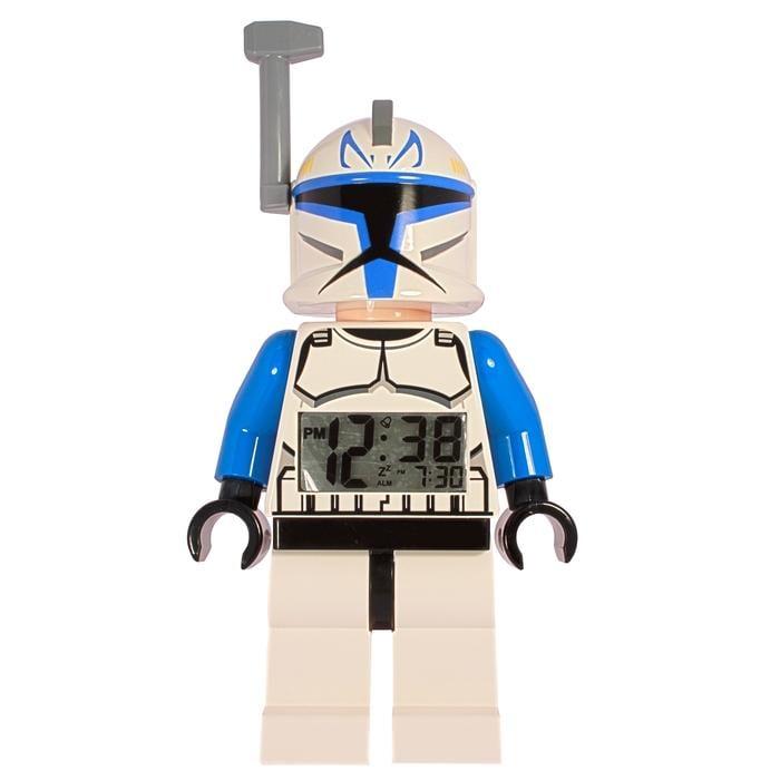 LEGO Clone Wars Captain Rex Mini-figure Alarm Clock