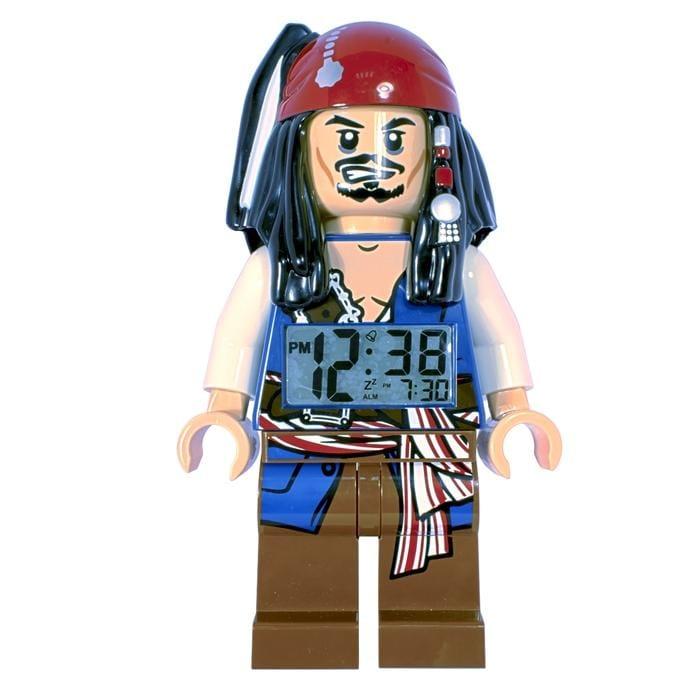 LEGO Pirates of the Caribbean Jack Sparrow Mini-Figure Alarm Clock