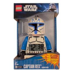 LEGO Clone Wars Captain Rex Mini-figure Alarm Clock - Thumbnail 1