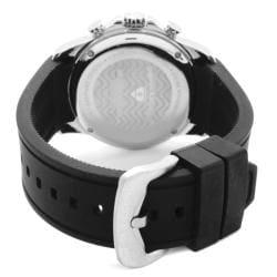Swiss Legend Men's 'Monte Carlo' Black Silicone Chronograph Watch - Thumbnail 1