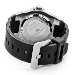 Swiss Legend Men's 'Expedition' Grey Dial Black Silicon Watch - Thumbnail 1