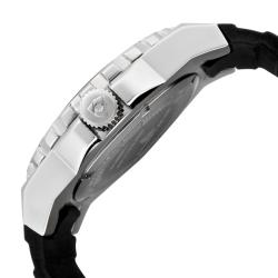 Swiss Legend Men's 'Expedition' Grey Dial Black Silicon Watch - Thumbnail 2