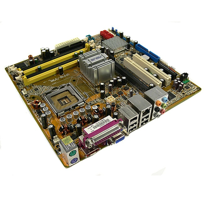 Asus P5BVM LGA775 Core 2 DUO G965 DDR2 SATA2 Motherboard (Refurbished)