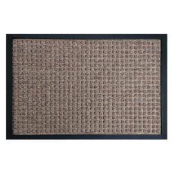 Rubber-Cal Nottingham Brown Carpet Entrance Mat (3' x 5')