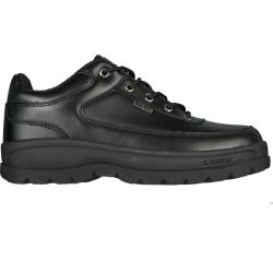 Lugz Men's 'Cipher II' Slip-resistant Black Leather Boots - Thumbnail 1