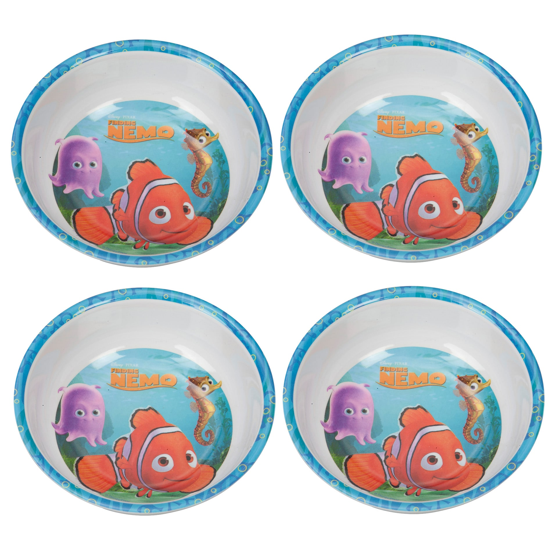 Finding Nemo 6-inch Bowls (Set of 4)