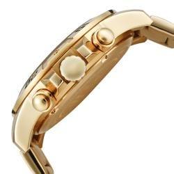 Invicta Men's 'Invicta II' 18-karat Goldplated Chronograph Watch