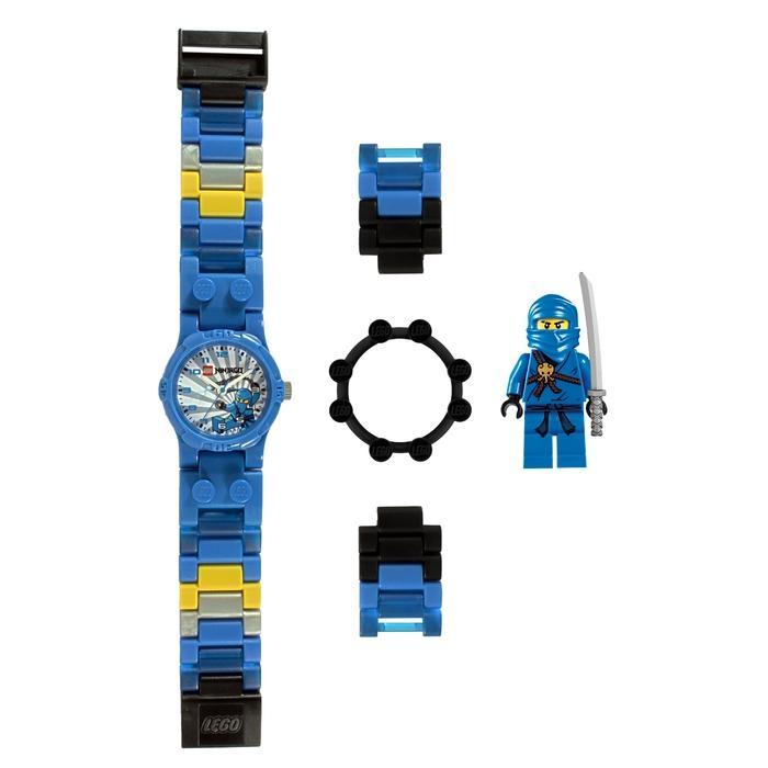 LEGO Children's 'Ninjago Blue Ninja' Mini Figure Watch