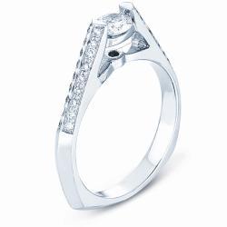 14k White Gold 1/2ct TDW Diamond Engagement Ring (H-I, I1)