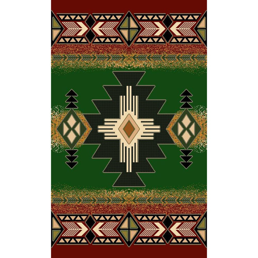 Concord Design Hunter Green Area Rug