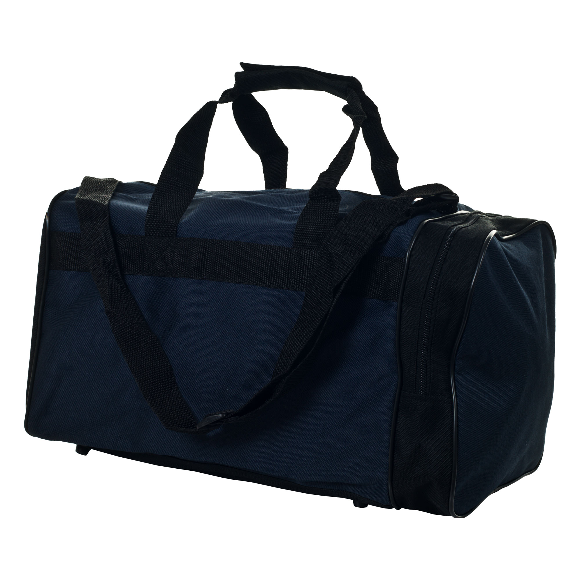 ToppersTravel Sport Polyester Navy/Black Unisex Shoulder-strap Gym Bag