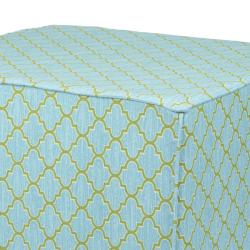 Brooklyn Covington Indoor/ Outdoor 22-inch Square Ottoman - Thumbnail 1