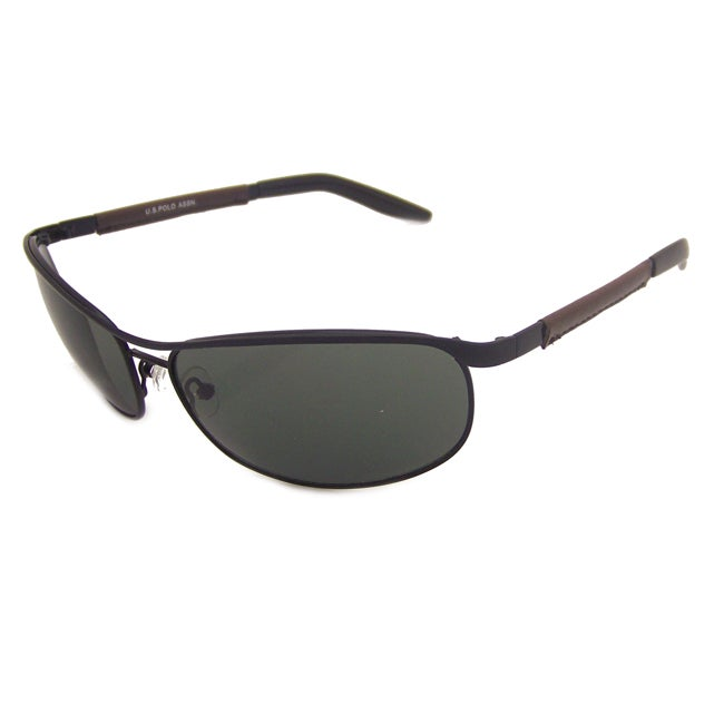 US Polo Association Men's 'Austin' Sport Sunglasses