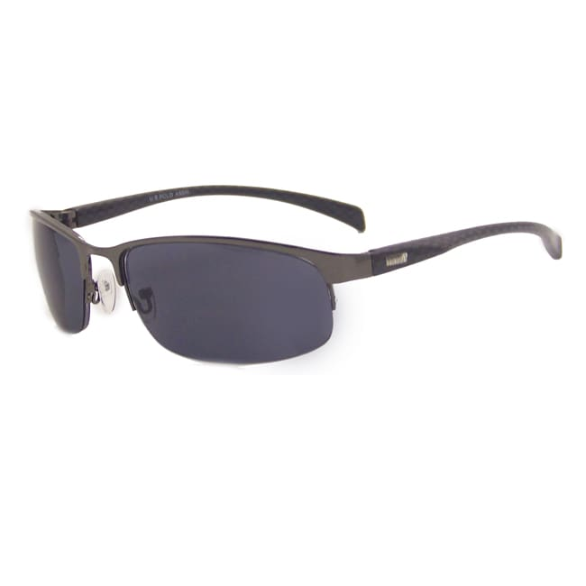 US Polo Association Men's 'Kauai' Gunmetal Sport Sunglasses