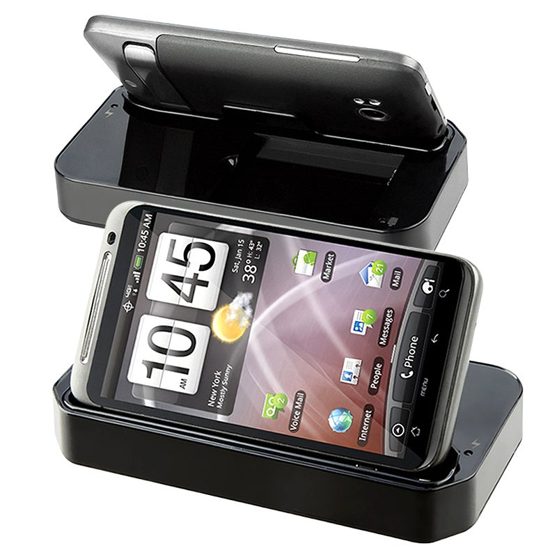 Multi-function Cradle/ Car Travel Charger for HTC ThunderBolt 4G