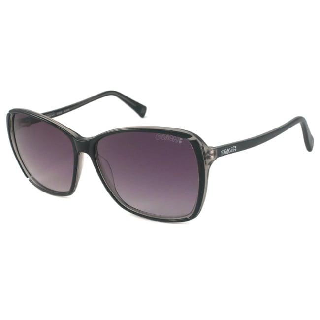 Coach S3006 Women's Oversize Sunglasses-Black