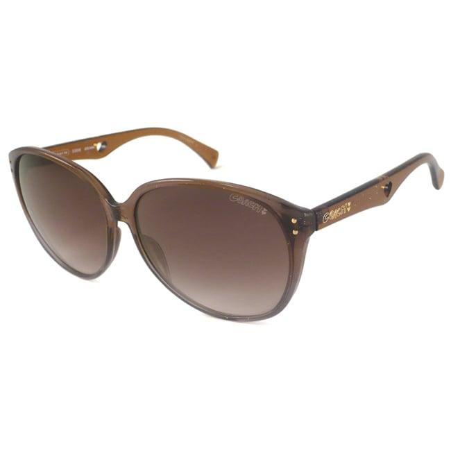 Coach S3008 Women's Oversize Sunglasses-Brown