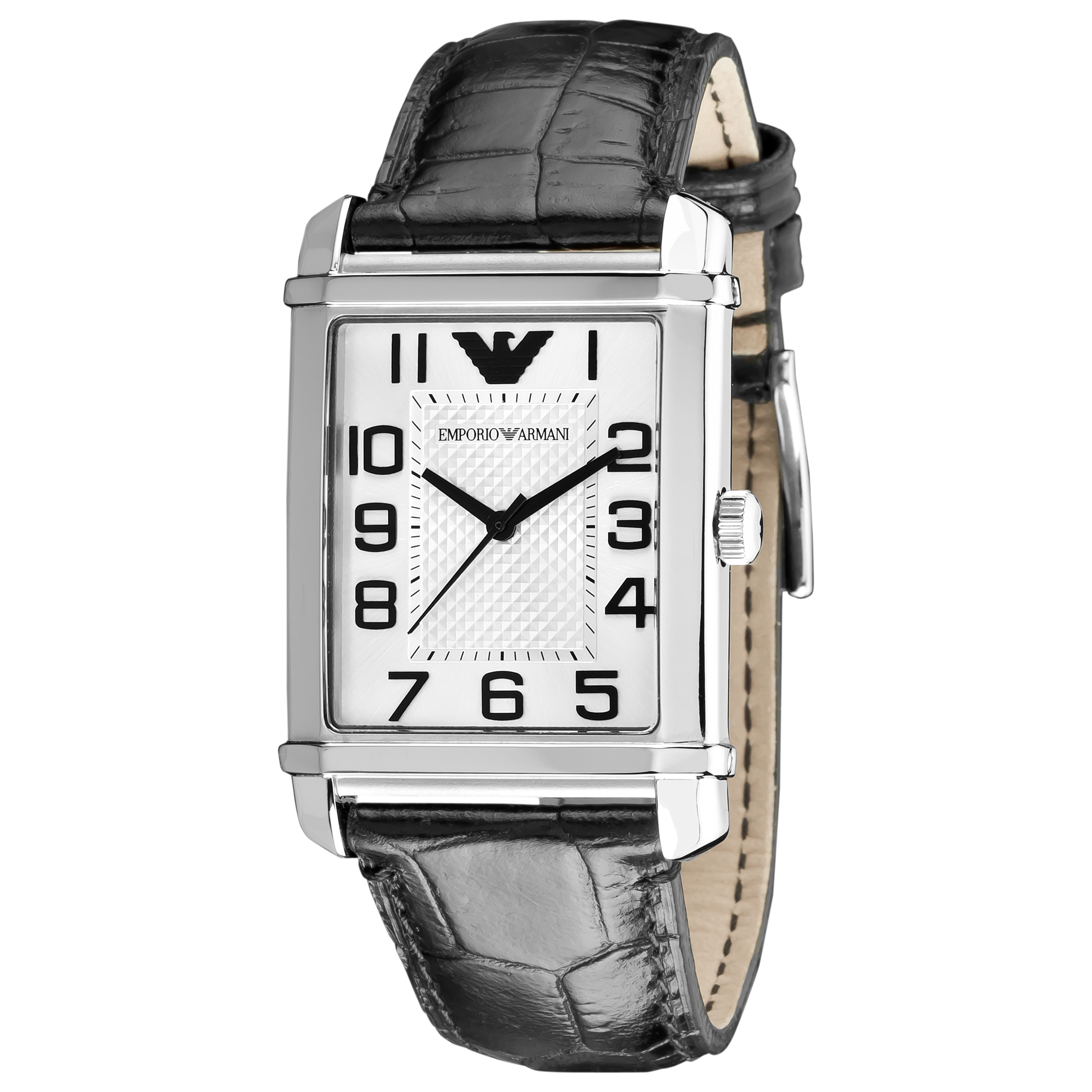 Emporio Armani Women's 'Classic' Silver Dial Watch - Thumbnail 0