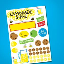 Discovery Kids Convertible Cookie and Lemonade Stand - Thumbnail 2