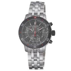 Tissot Men's 'PRS-200' Black Dial Stainless Steel Quartz Watch