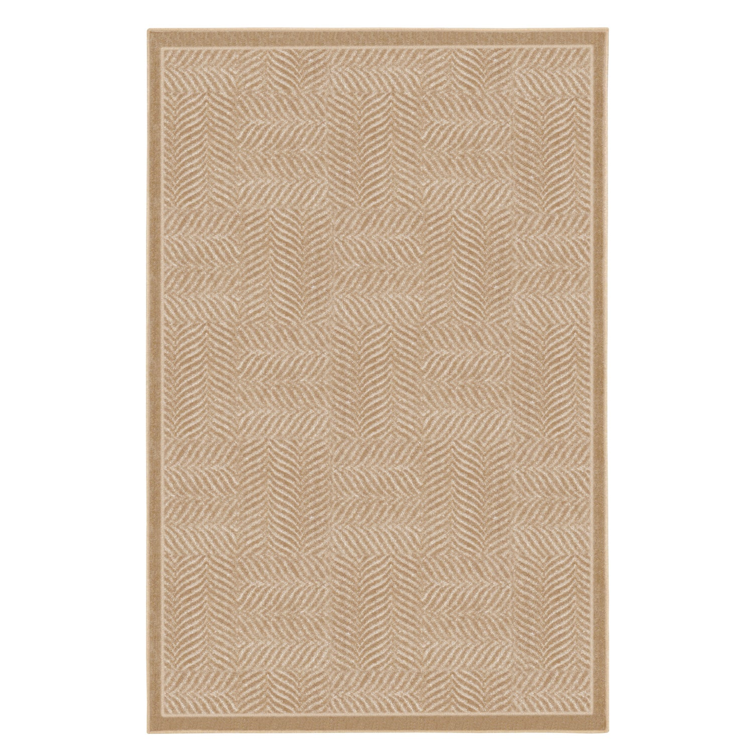 Tiger Patch Clay Beige Rug (8' x 10')