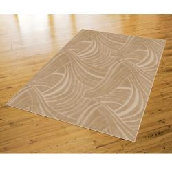 Brush Strokes Clay Beige Rug (8' x 10') - Thumbnail 1