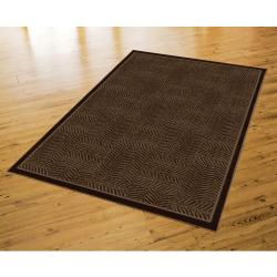 Tiger Patch Mink Brown Rug (8' x 10') - Thumbnail 1