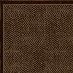 Tiger Patch Mink Brown Rug (8' x 10') - Thumbnail 2