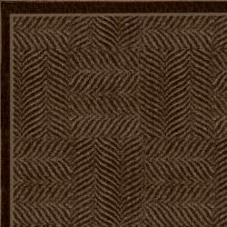 Tiger Patch Mink Brown Rug (8' x 10')