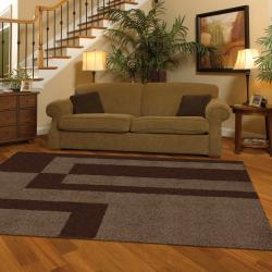Prism Mink Brown Rug (8' x 10')