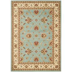 Safavieh Lyndhurst Traditional Oriental Blue/ Ivory Rug (6'7 x 9'6)