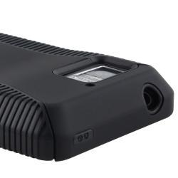 Black TPU/ Black Hard Hybrid Case for Motorola Droid Bionic XT875