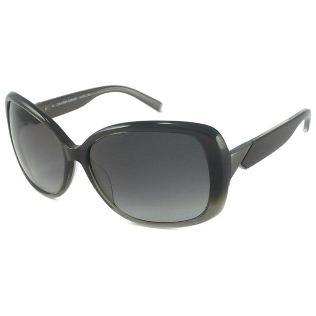 Calvin Klein CK7787S Women's Gray Gradient Rectangular Sunglasses