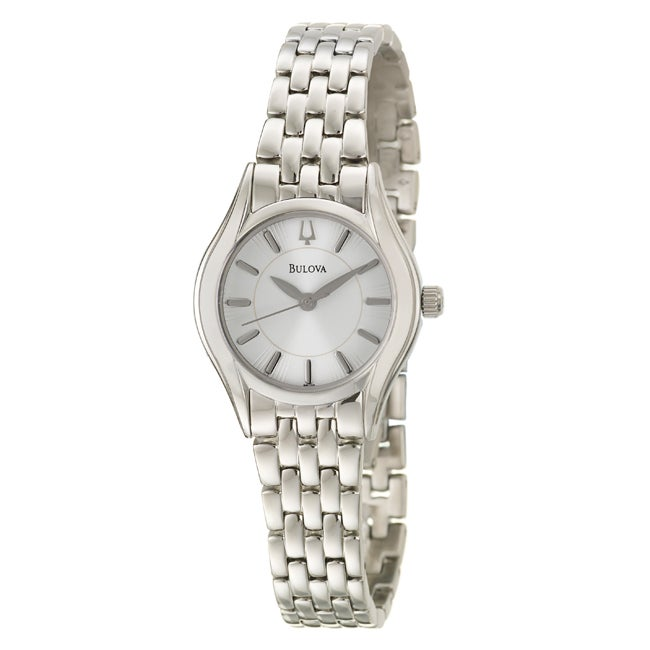 Bulova Women's 'Bracelet' Stainless Steel Quartz Watch