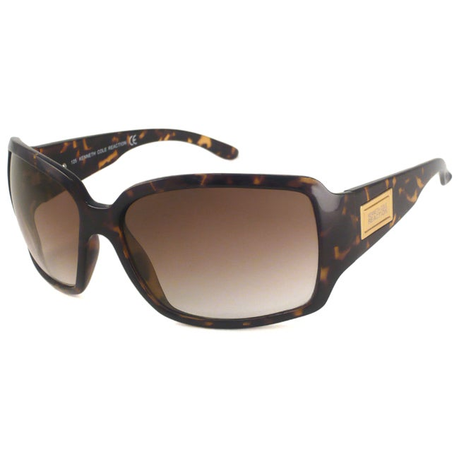 Kenneth Cole Reaction KC2299 Womens Rectangular Sunglasses