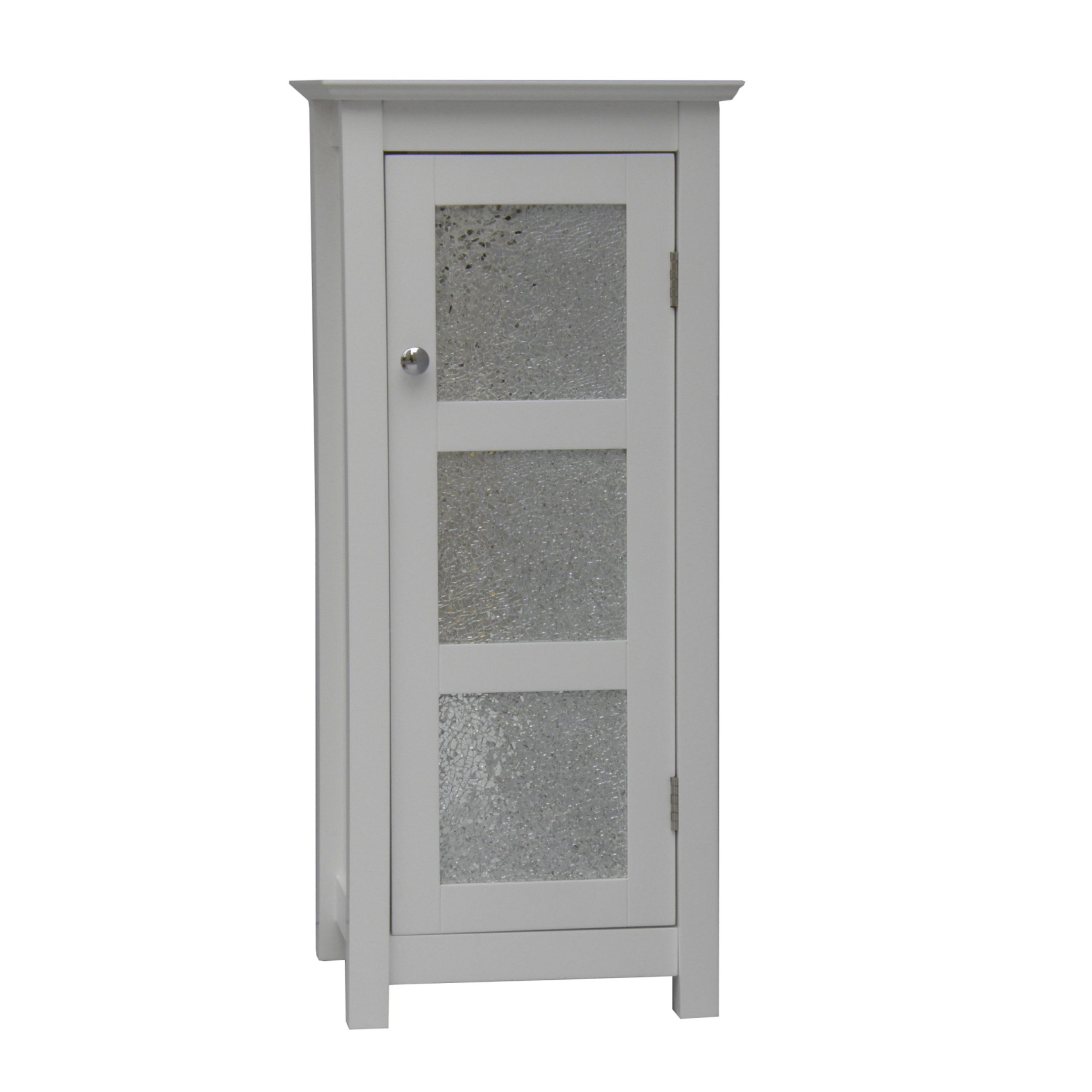 Fifth Avenue Silver Mosaic Floor Cabinet - Thumbnail 0