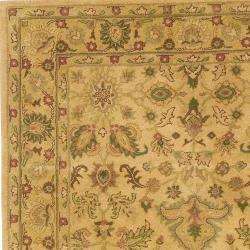 Hand-tufted Tan Anterior Wool Rug (5' x 8') - Thumbnail 2