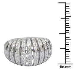 De Buman 18k Gold 1 1/3ct TDW Diamond Ring (G-H,VS1)