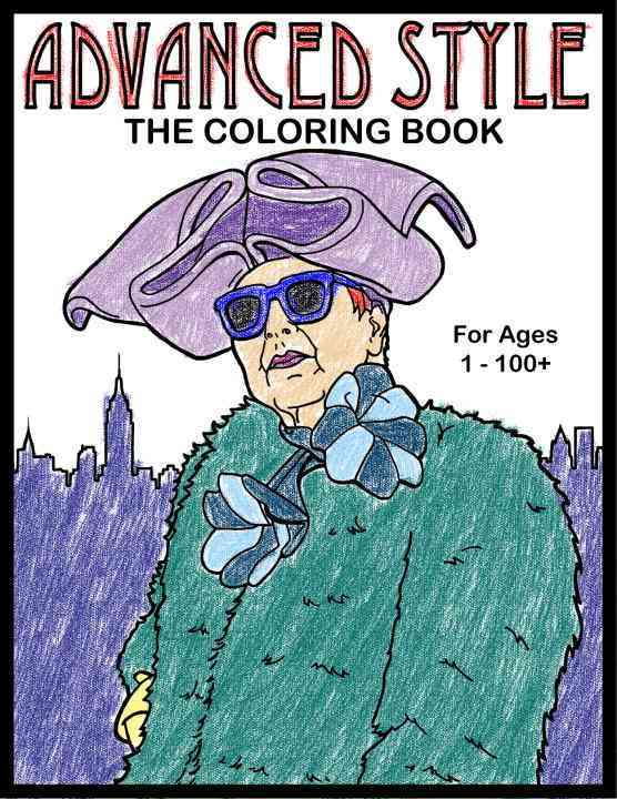 Advanced Style the Adult Coloring Book (Paperback)